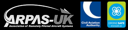 CAA authorised aerial photography using UAV drone